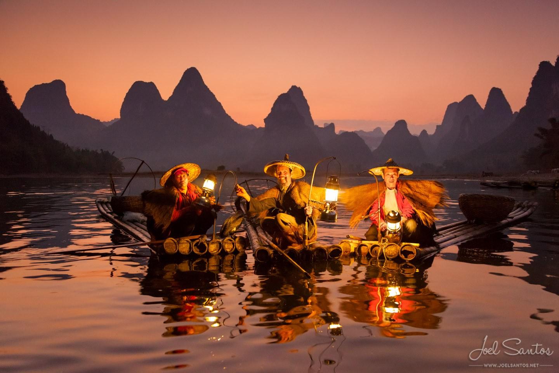 Cormorant Fisherman, Xing Ping, China