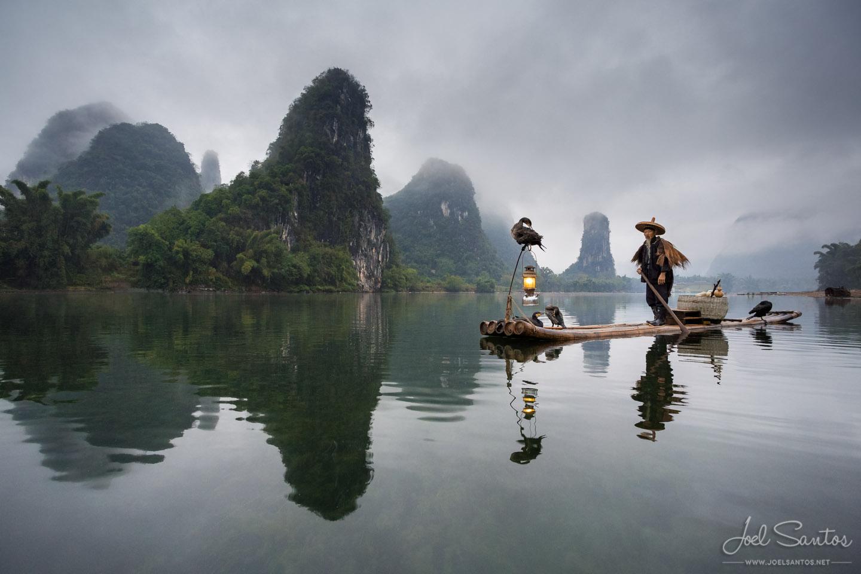 Cormorant Fisherman, Yangshuo, China