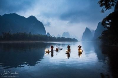 Cormorant Fisherman © Joel Santos