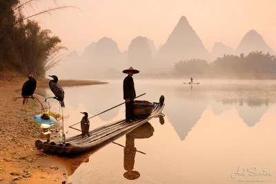 Cormorant Fisherman - Yangshuo, China