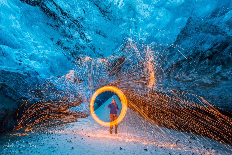 Fire and Ice, Vatnajökull, Iceland