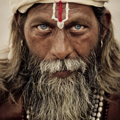 The Color of Contrast - Sadhu, Varanasi, India