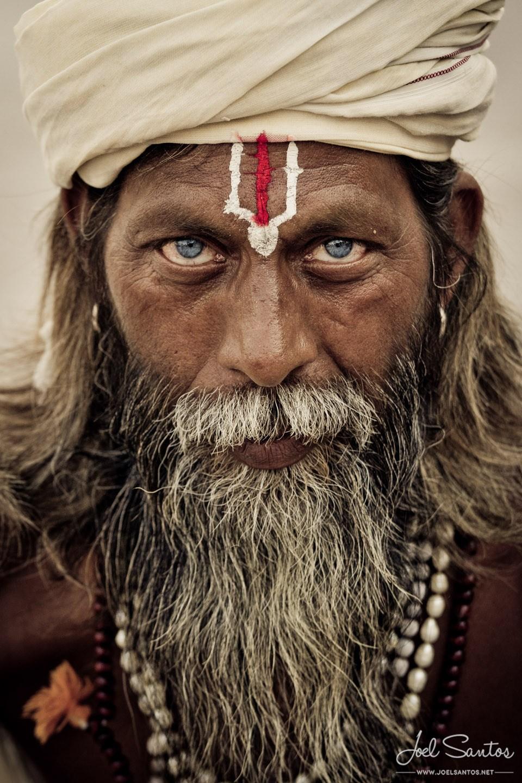 The Color of Contrast - Sadhu, Varanasi, India