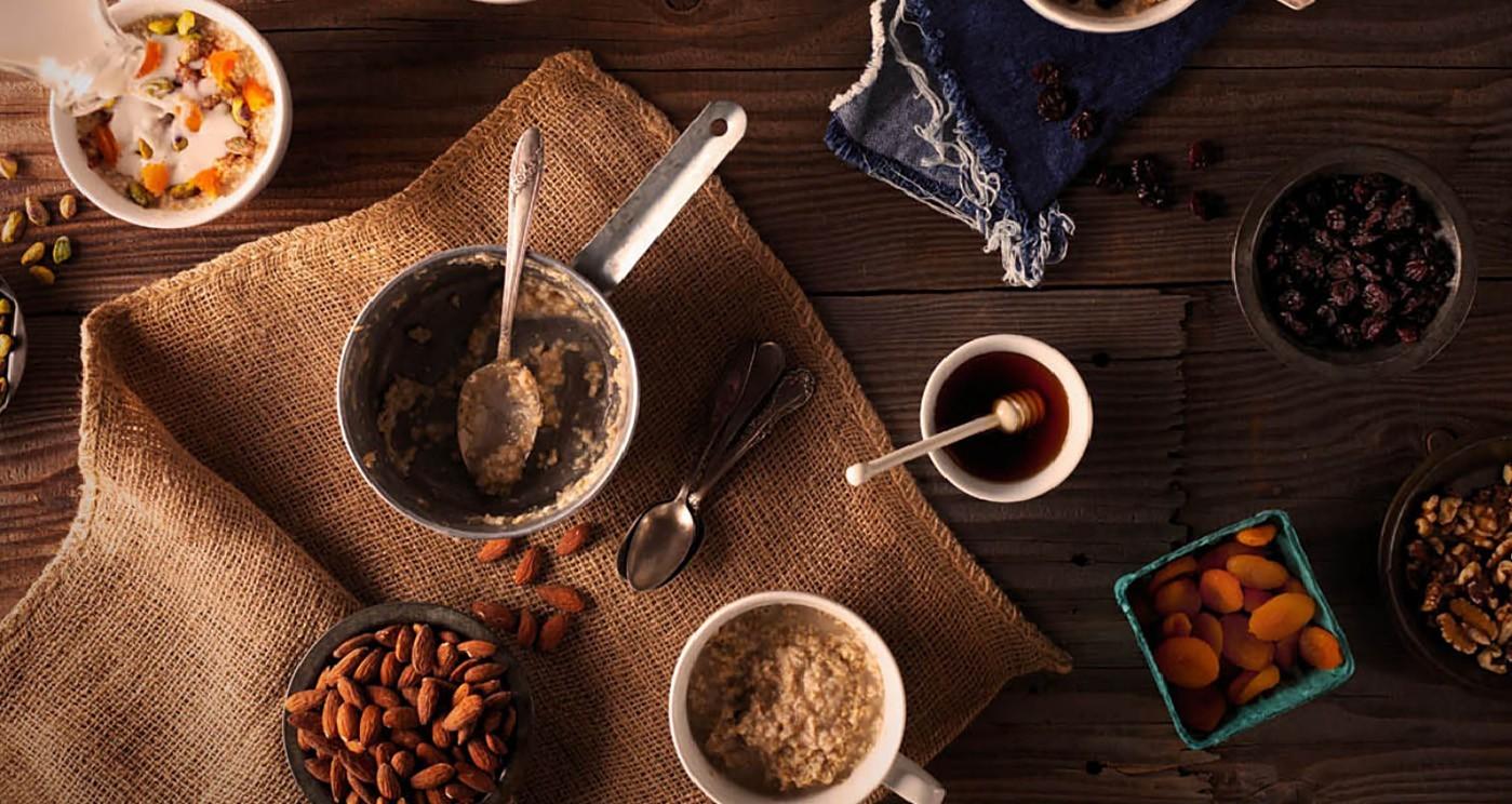Hot Cereals Breakfast