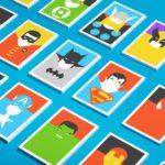 Minimalist Postcards Of Superheroes
