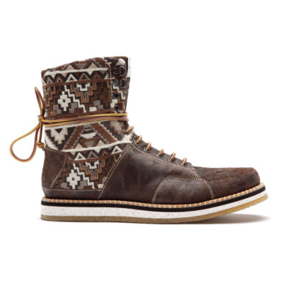Brown Native High Boot