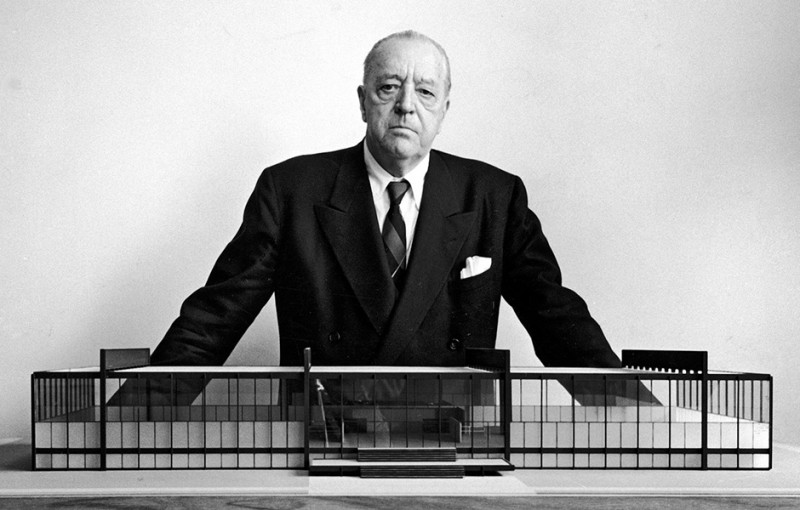 Some Thoughts On Civilization with Mies van der Rohe